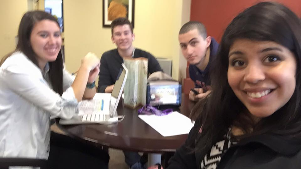 A squad that studies together, succeeds together! Spring 2016