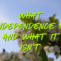 What Independence Is and What It Isn't