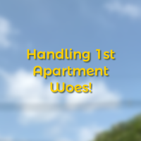 Handling 1st Apartment Woes