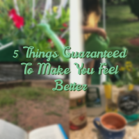 5 Things Guaranteed To Make You Feel Better